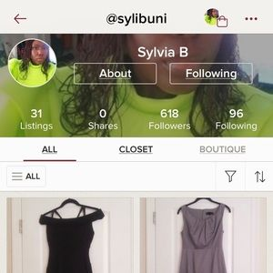 Shop my sister's closet! @sylibuni
